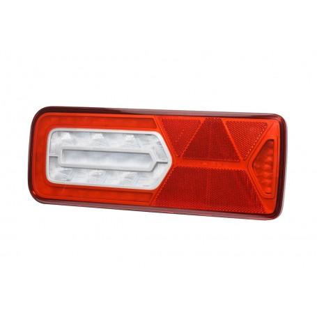 LC12 LED - Feu arrière LED Gauche 12V, Conn additionnels, triangle