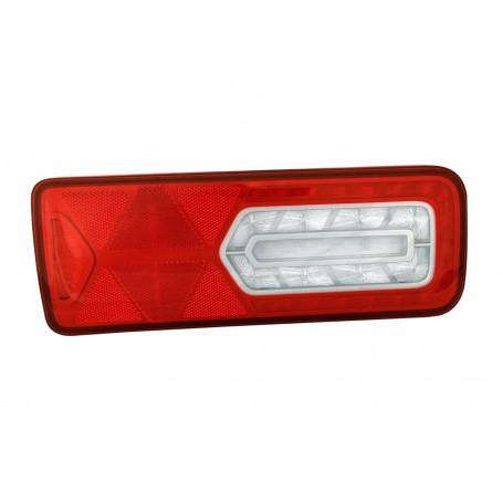 LC12 LED - Feu arrière LED Gauche 24V, Conn additionnels, catadioptre