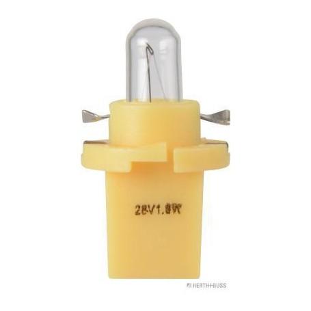 Ampoule CULOT JAUNE, éclairage des instruments