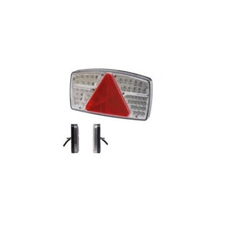 Feu AR DROIT LED, câble 0,50m nu
