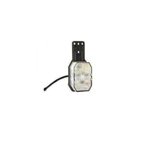 Feu de gabarit Flexipoint LED rouge/blanc DROIT avec support et câble
