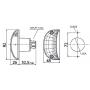 ICDL94 - Clignotant latéral Ampoules 12/24V Gauche /Droit