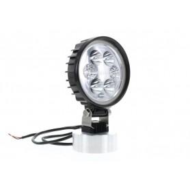 Phare de travail LED CARBONLUX rond diam 120mm - cable