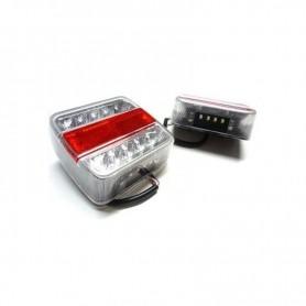 Feux arrière remorque à LED
