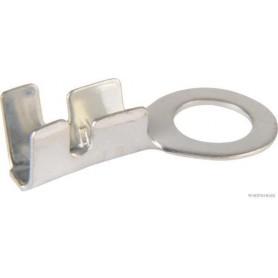 Cosse à oeil nu (x100) 1,5 mm²/2,5 mm² Ø 5,3 mm Ep.0,5 mm
