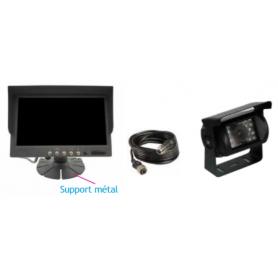 Kit caméra 7 pouces standard + 20m de câble