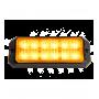 Feu de pénétration orange 12 LED