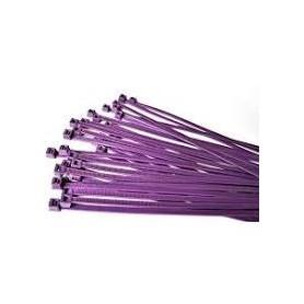 Collier de serrage VIOLET 4.8 x 188 mm (sachet de 100)