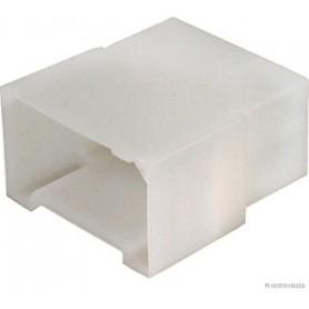 Boitier connecteur (x10) 6 pôle 6.3mm pour fiche plate