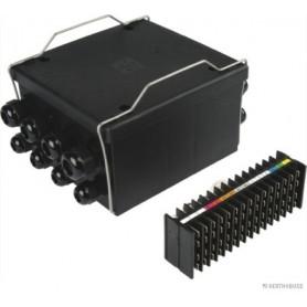 Boîte pour connexions de câbles 16 pôle 8x4+4x8+2x14+1x20