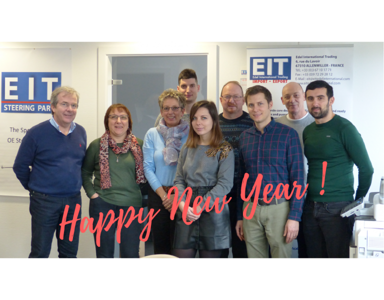 Bonne année 2018 de la part de toute l'équipe EIT