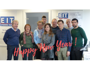 Happy new year 2018 of the whole EIT team