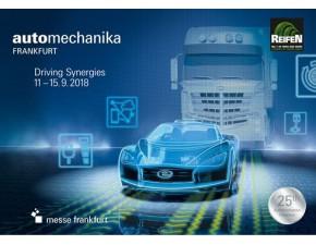 EIT stellt aus auf der Automechanika in Frankfurt vom 11.09. bis zum 15.09.2018
