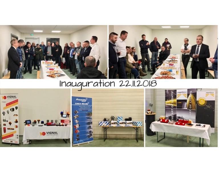 Soirée d'inauguration 22.11.2018